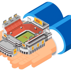 A new model for a sustainable stadium
