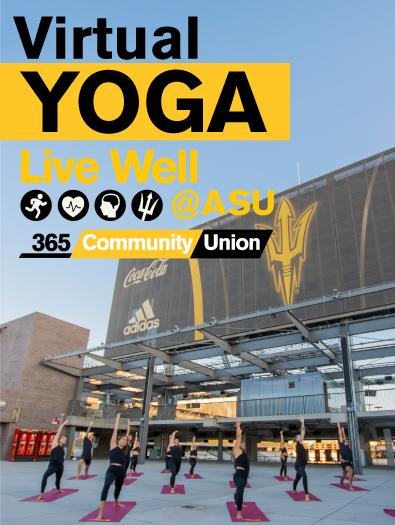 Virtual Yoga - Live Well ASU 365 Community Union